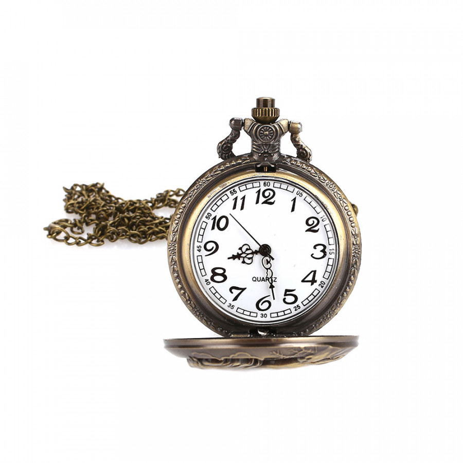 Pocket Watch Fob Pocket Watch Retro Horse Animal Hanging Chain Bronze