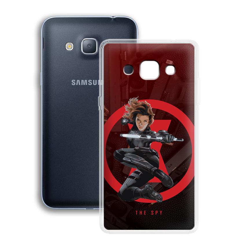 Ốp lưng cho điện thoại Samsung Galaxy J3 / J3 2016 - 01042 0538 SPY01 - Silicone dẻo - Hàng Chính Hãng