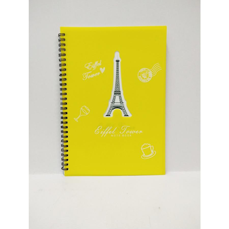 Sổ Lò Xo Eiffel Tower - 1606072 , 3153984593383 , 62_10820640 , 32000 , So-Lo-Xo-Eiffel-Tower-62_10820640 , tiki.vn , Sổ Lò Xo Eiffel Tower