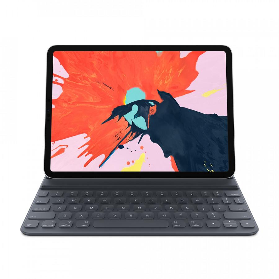 Bao Da Kèm Bàn Phím Apple Smart Keyboard Folio Cho iPad Pro 2018 - Hàng Nhập Khẩu Chính Hãng