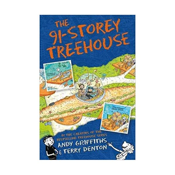 The 91-Storey Treehouse (The Treehouse Books) Paperback – 24 Aug 2017