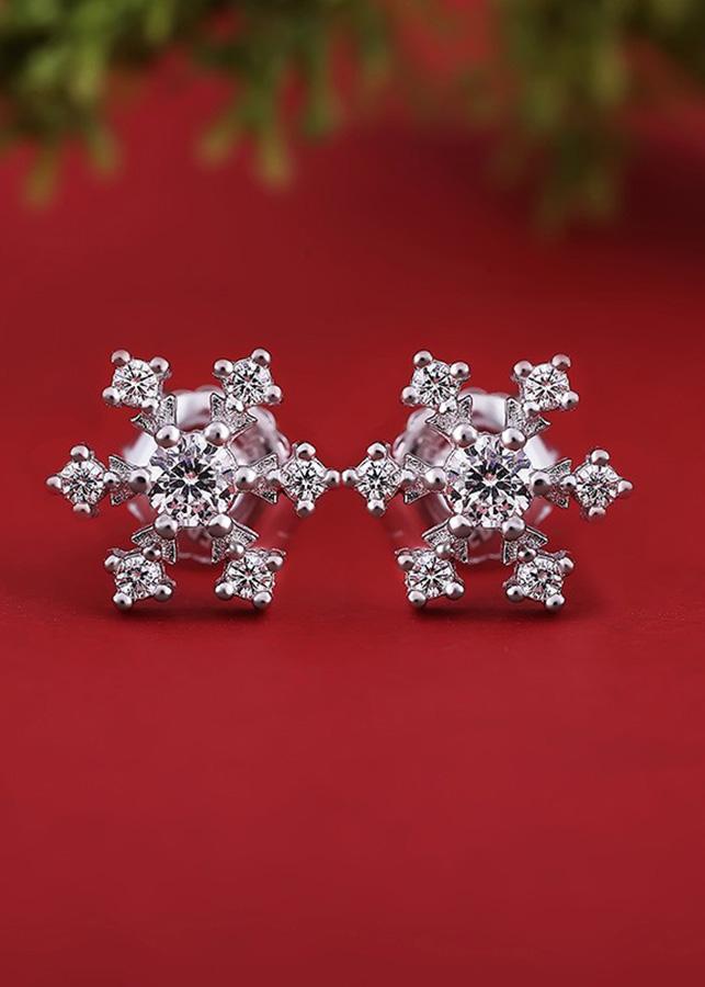 Bông tai bạc Amazing Snowflakes - 1550423 , 7450858658114 , 62_10052386 , 334000 , Bong-tai-bac-Amazing-Snowflakes-62_10052386 , tiki.vn , Bông tai bạc Amazing Snowflakes