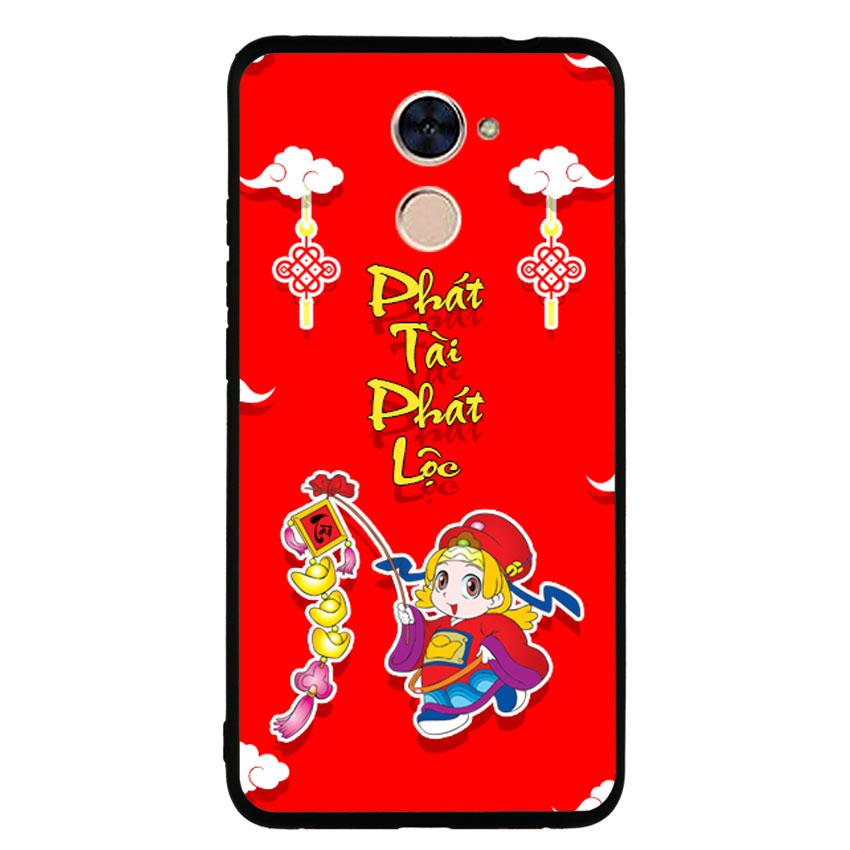 Ốp Lưng Viền TPU cho điện thoại Huawei Y7 Prime -Thần Tài 03