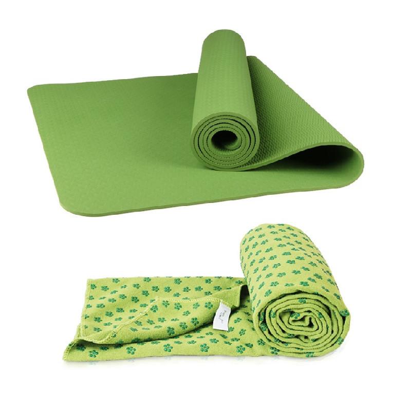 Thảm yoga 8mm 1 lớp( tặng khăn trải thảm hạt cao su non+ Túi đựng thảm và dây buộc) - 2321350 , 3280521258297 , 62_14965497 , 600000 , Tham-yoga-8mm-1-lop-tang-khan-trai-tham-hat-cao-su-non-Tui-dung-tham-va-day-buoc-62_14965497 , tiki.vn , Thảm yoga 8mm 1 lớp( tặng khăn trải thảm hạt cao su non+ Túi đựng thảm và dây buộc)
