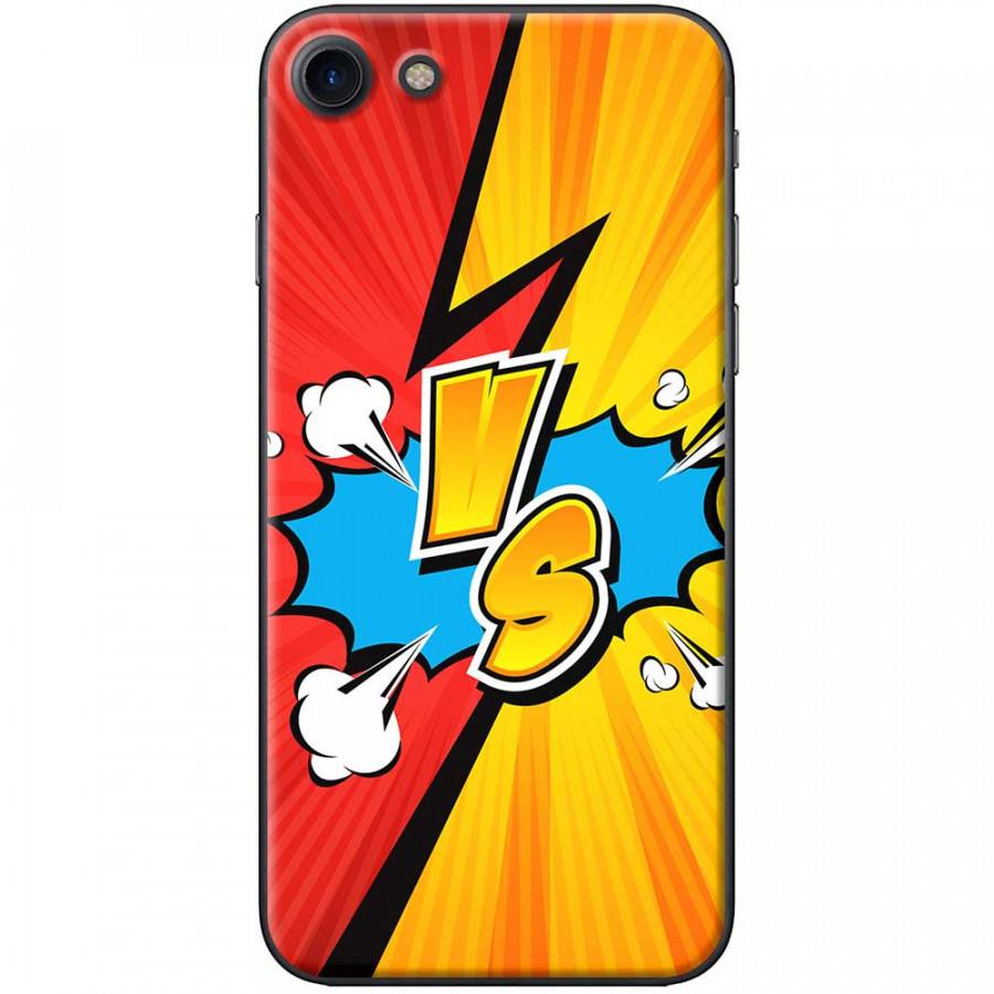 Ốp lưng dành cho iPhone 7 mẫu VS đỏ vàng