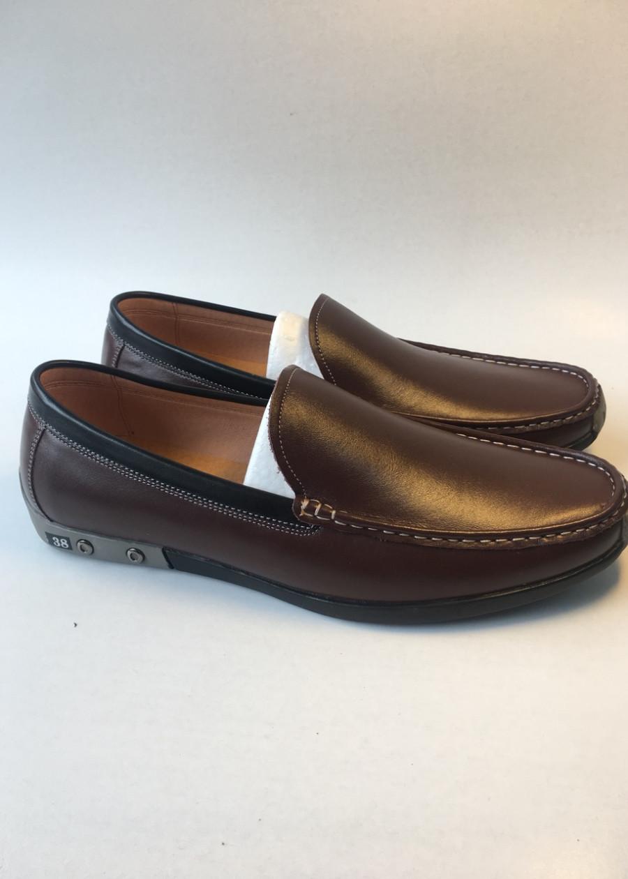 Giày lười nam da bò thật DNSH003