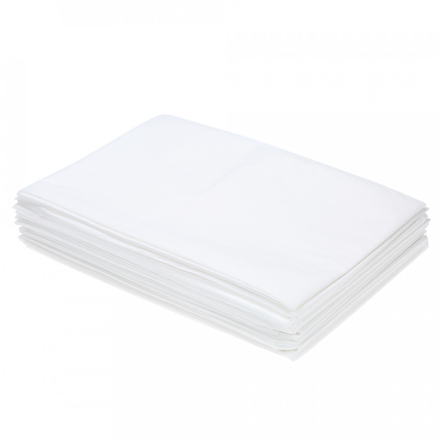 YiHuB 10pcs 32 x 71 Non-woven Fabric Disposable Bedsheet Set of 10pcs Linen Sheet Nonwovens Bedsheet 80 x 180 cm