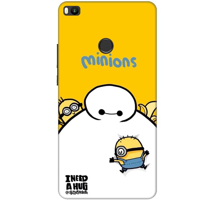 Ốp lưng dành cho điện thoại XIAOMI MI MAX 2 hinh Big Hero Minions