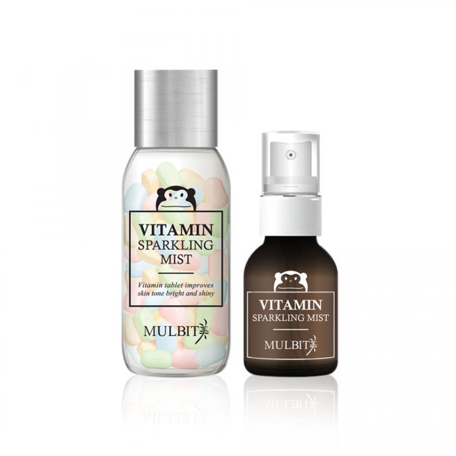Bộ Xịt Khoáng Và Viên Vitamin Sparkling Mist Mulbit MB001 ( 45 g + 50 Tablets ) - 985161 , 5491921807703 , 62_2562847 , 494000 , Bo-Xit-Khoang-Va-Vien-Vitamin-Sparkling-Mist-Mulbit-MB001-45-g-50-Tablets--62_2562847 , tiki.vn , Bộ Xịt Khoáng Và Viên Vitamin Sparkling Mist Mulbit MB001 ( 45 g + 50 Tablets )