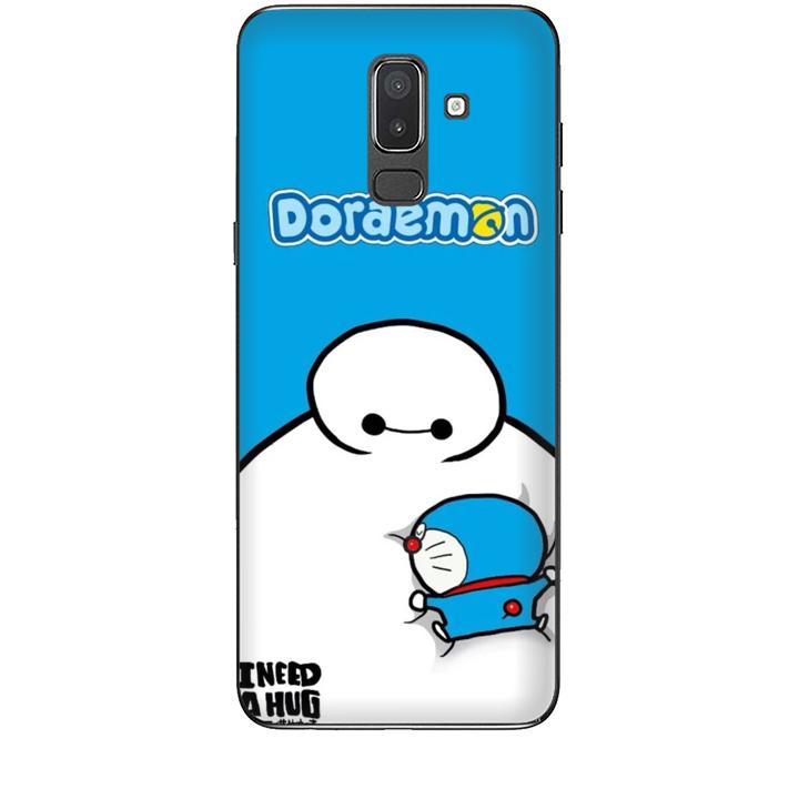 Ốp lưng dành cho điện thoại  SAMSUNG GALAXY J8 2018 Big Hero Doraemon