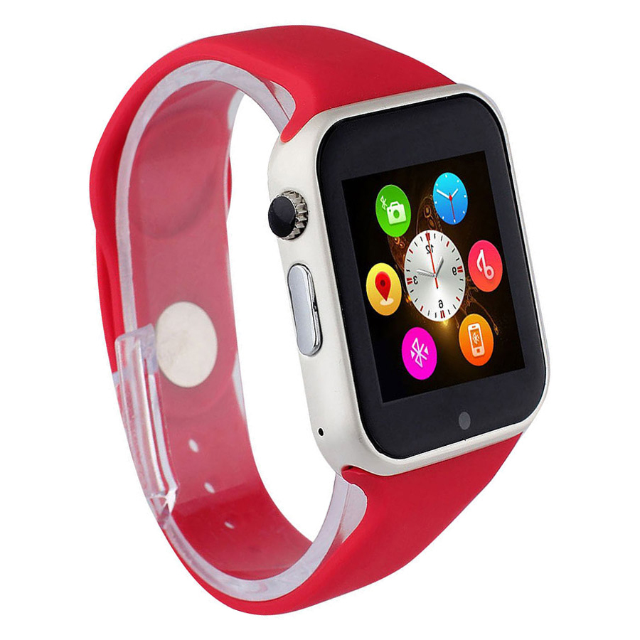 Đồng hồ thông minh A1 tặng thẻ nhớ 16GB (Đỏ)