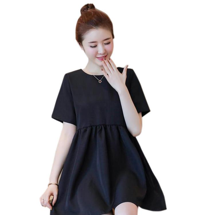 Váy Bầu Đen Mặc 2 Kiểu MYC 1155