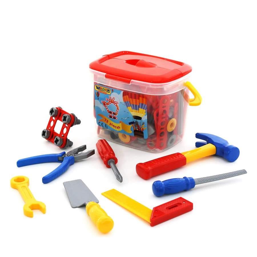 Hộp đồ chơi dụng cụ kỹ thuật 72 chi tiết - Polesie Toys - 1850292 , 6989017734785 , 62_10367616 , 479000 , Hop-do-choi-dung-cu-ky-thuat-72-chi-tiet-Polesie-Toys-62_10367616 , tiki.vn , Hộp đồ chơi dụng cụ kỹ thuật 72 chi tiết - Polesie Toys
