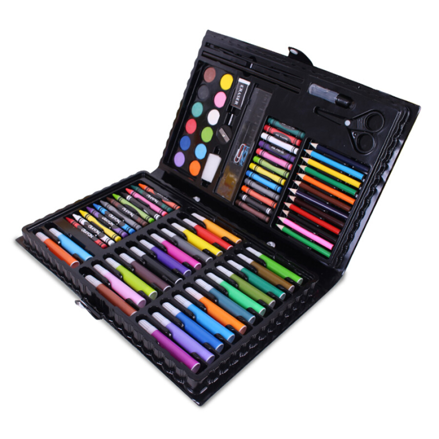 Ming Tower (MING TA) 86 Piece Set Painting Tool Box Stationery Board WordPad Toy Brush Wooden Box Washable Watercolor Pen Crayon Art Pencil Wood - 1910859 , 6702570337916 , 62_10263473 , 280000 , Ming-Tower-MING-TA-86-Piece-Set-Painting-Tool-Box-Stationery-Board-WordPad-Toy-Brush-Wooden-Box-Washable-Watercolor-Pen-Crayon-Art-Pencil-Wood-62_10263473 , tiki.vn , Ming Tower (MING TA) 86 Piece Set