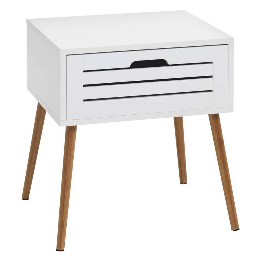 Tủ Đầu Giường Broby Basic JYSK 3674090  (45 x 50 x 38 cm)