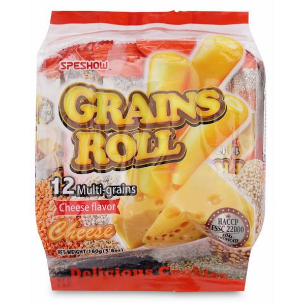 Bánh Xốp Speshow 12 Loại Hạt Vị Phô Mai (160g)