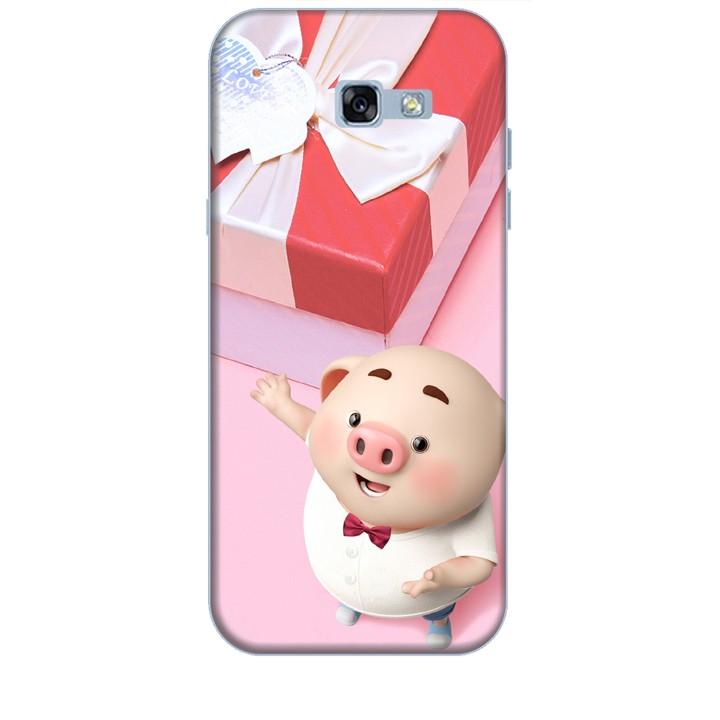 Ốp lưng dành cho điện thoại  SAMSUNG GALAXY A7 2017 Heo Con Đòi Quà