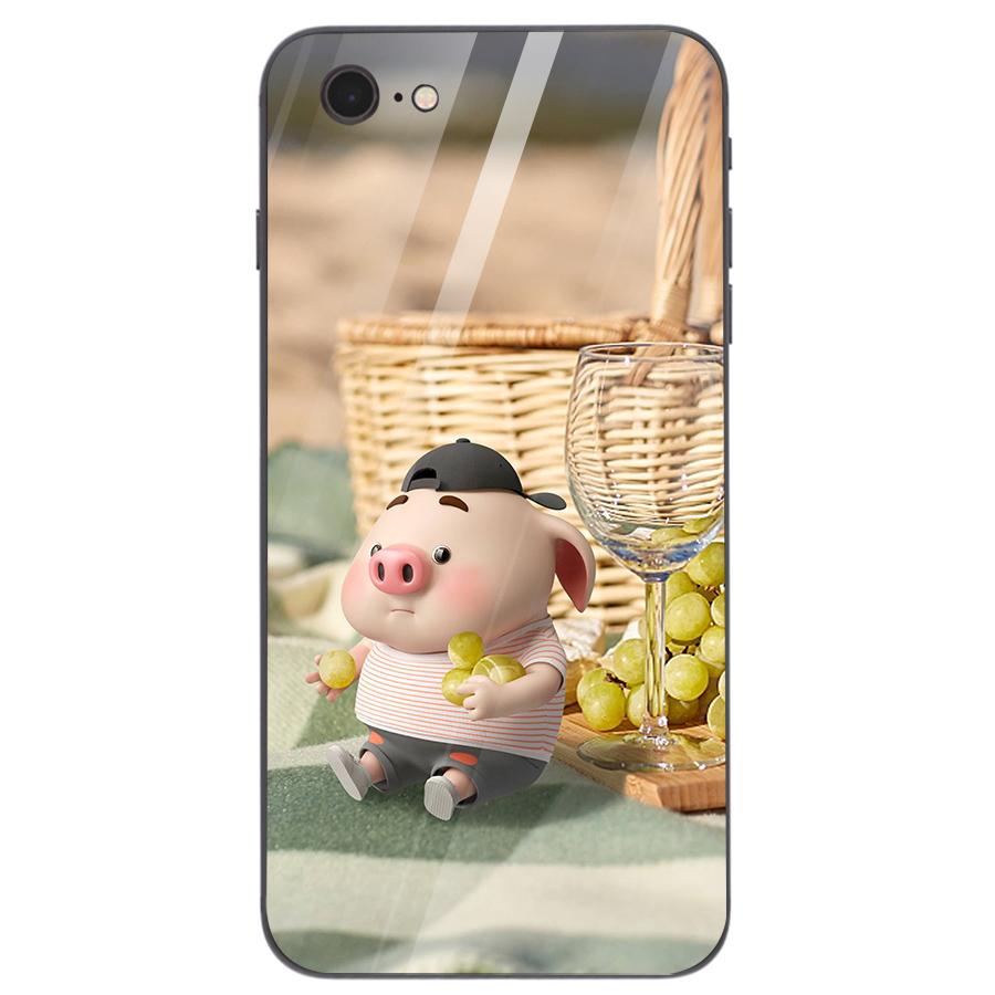Ốp kính cường lực dành cho điện thoại iPhone 7/8 - heo hồng - hh220 - 1739292 , 2791457499834 , 62_13626922 , 209000 , Op-kinh-cuong-luc-danh-cho-dien-thoai-iPhone-7-8-heo-hong-hh220-62_13626922 , tiki.vn , Ốp kính cường lực dành cho điện thoại iPhone 7/8 - heo hồng - hh220