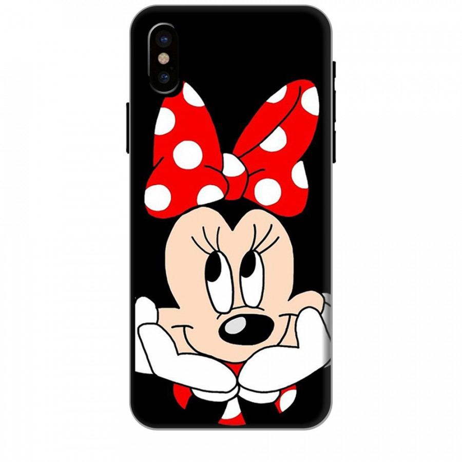 Ốp lưng dành cho điện thoại IPHONE XS Mickey Làm Duyên