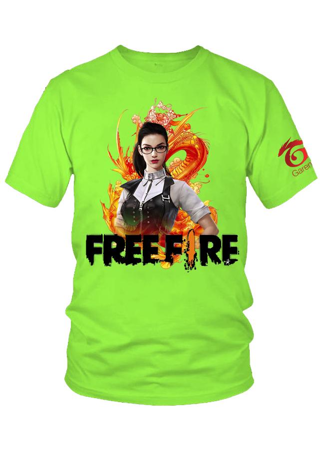Áo thun nam game Free Fire Nikita M12
