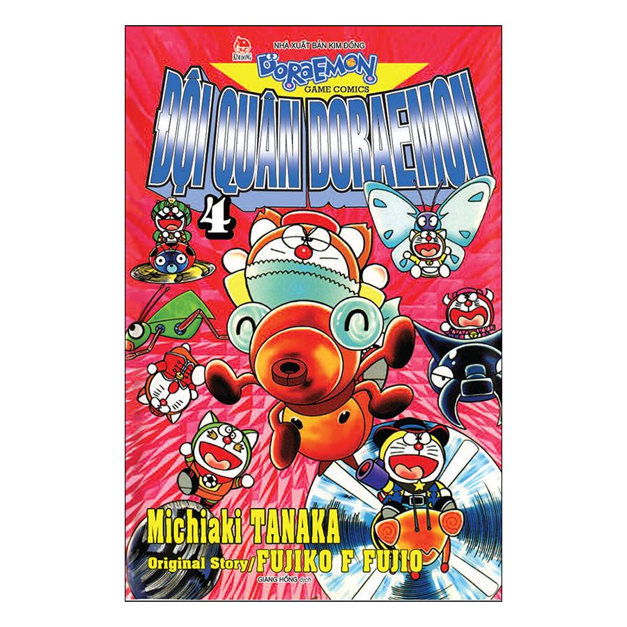 Đội Quân Doraemon - Tập 4 (Tái Bản 2019)