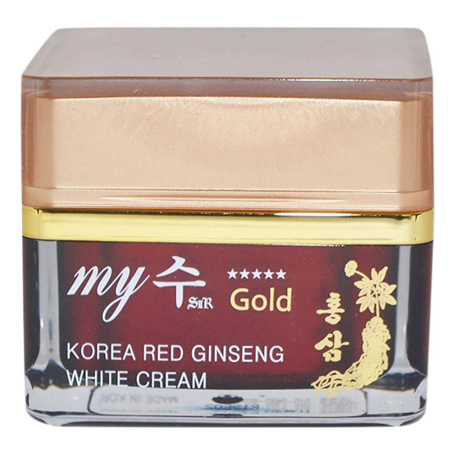 Kem Hồng Sâm Dưỡng Trắng Da Red Ginseng White Cream My Gold (50ml) - 877422 , 9422520579322 , 62_1196971 , 325000 , Kem-Hong-Sam-Duong-Trang-Da-Red-Ginseng-White-Cream-My-Gold-50ml-62_1196971 , tiki.vn , Kem Hồng Sâm Dưỡng Trắng Da Red Ginseng White Cream My Gold (50ml)