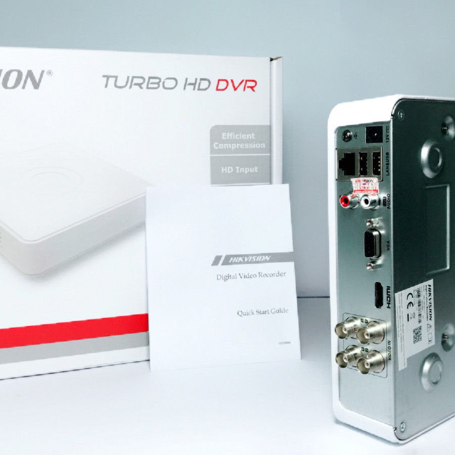 (Hàng Chính Hãng) - Đầu Ghi Camera 1080 HD-TVI 4 kênh - HIKVISION