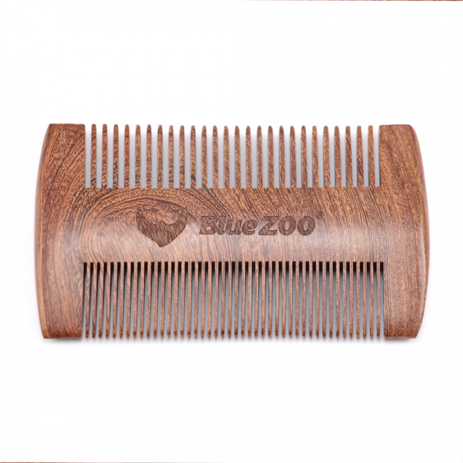Wooden Hair Comb Man