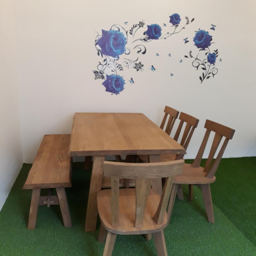 Bộ bàn ăn  Sồi Oak Soild Anplus
