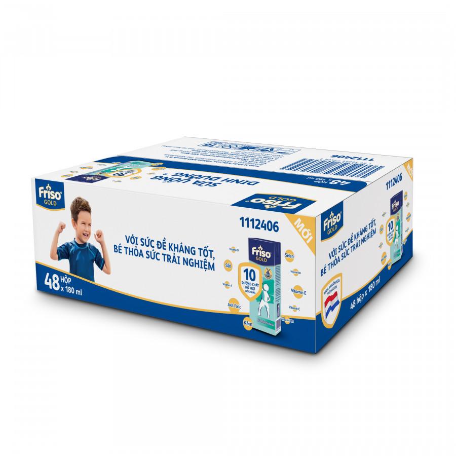 Thùng 48 Hộp Sữa Bột Pha Sẵn Friso Gold Rtd Vani (48 x 180ml)