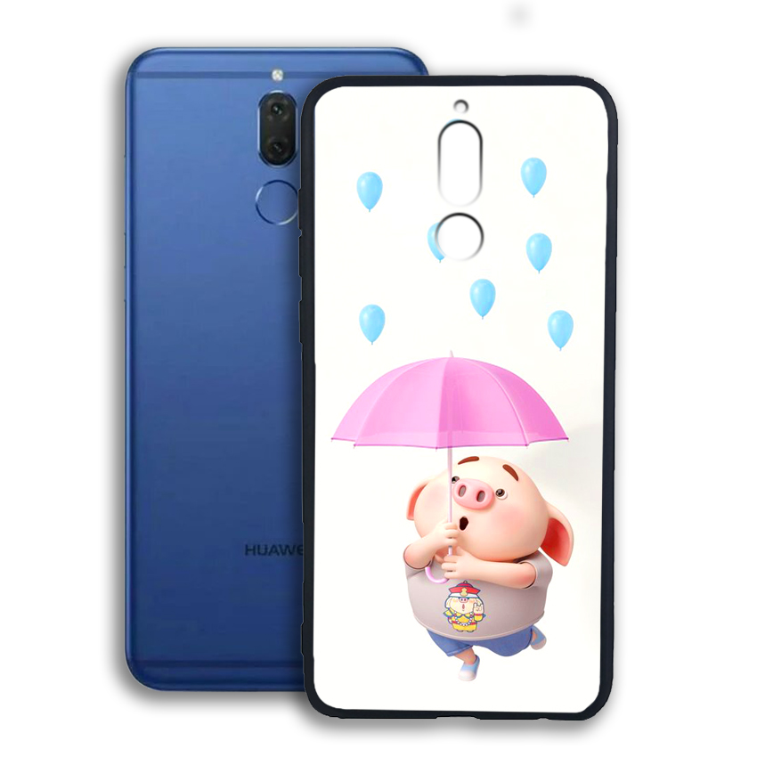 Ốp lưng viền TPU cho điện thoại Huawei Nova 2i - 02089 0523 PIG26 - Hàng Chính Hãng
