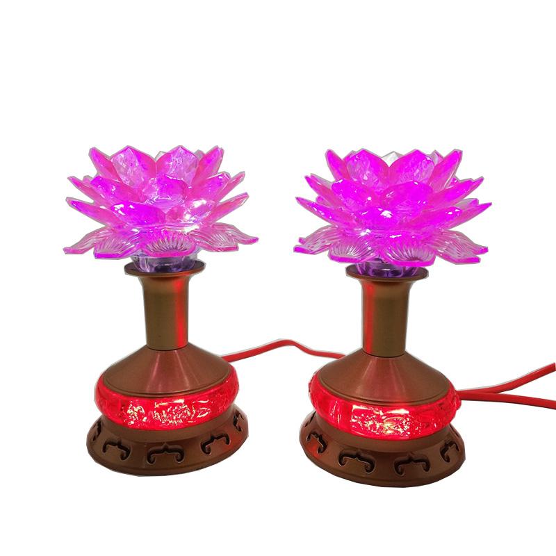 Bộ 2 đèn thờ hoa sen thân nhựa cao 15cm VDT1239 - 761448 , 8086824542713 , 62_8823648 , 385000 , Bo-2-den-tho-hoa-sen-than-nhua-cao-15cm-VDT1239-62_8823648 , tiki.vn , Bộ 2 đèn thờ hoa sen thân nhựa cao 15cm VDT1239