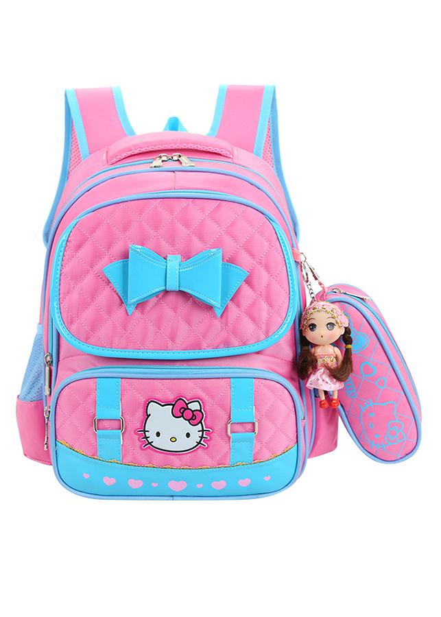 Balo Hello Kitty Đi Học Cho Bé Gái Lớp 1-3 - 1525858 , 2821852055561 , 62_3564609 , 299000 , Balo-Hello-Kitty-Di-Hoc-Cho-Be-Gai-Lop-1-3-62_3564609 , tiki.vn , Balo Hello Kitty Đi Học Cho Bé Gái Lớp 1-3