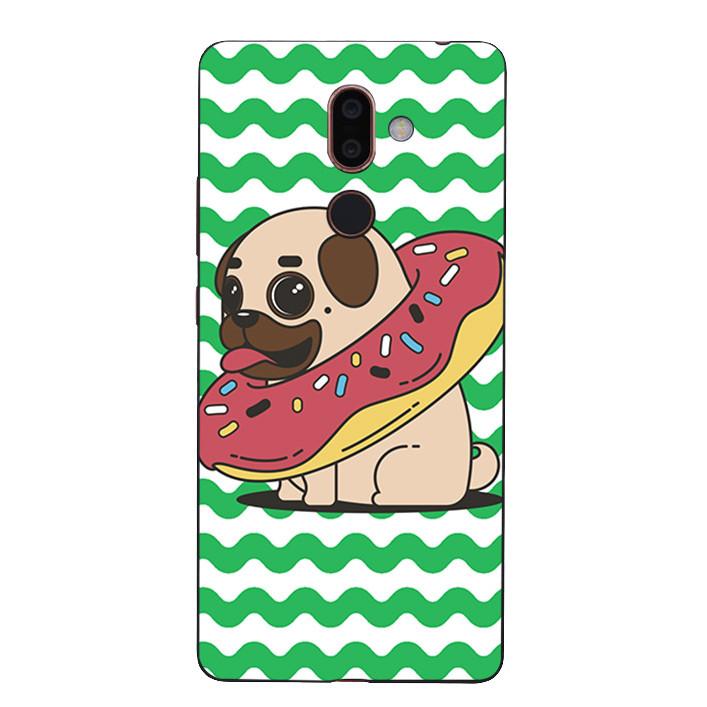 Ốp Lưng Dẻo Cho Điện Thoại Nokia 7 Plus - Cute Dog 04