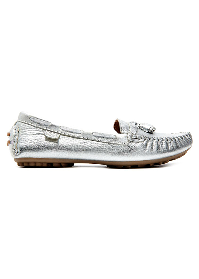 Giày Mọi Nữ Da Bò Nơ Sulily M01-II17BAC