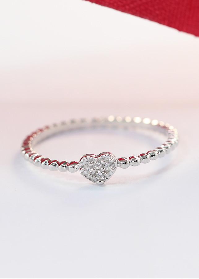 Nhẫn bạc nữ đẹp hình trái tim đính đá tinh tế NN0216 - 1876995 , 5674946228481 , 62_10155745 , 320000 , Nhan-bac-nu-dep-hinh-trai-tim-dinh-da-tinh-te-NN0216-62_10155745 , tiki.vn , Nhẫn bạc nữ đẹp hình trái tim đính đá tinh tế NN0216