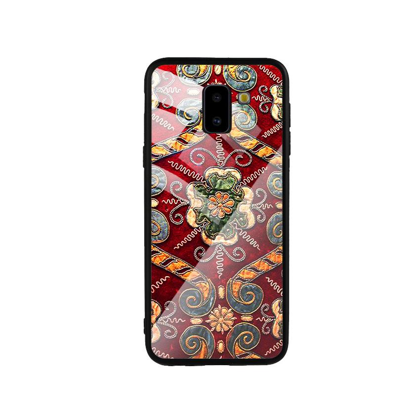 Ốp Lưng Kính Cường Lực cho điện thoại Samsung Galaxy J6 2018 - DHCL Mẫu 4