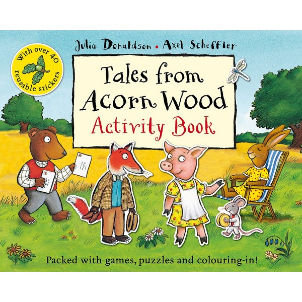 Tales From Acorn Wood Activity Book - 955413 , 8341034302763 , 62_2192459 , 132000 , Tales-From-Acorn-Wood-Activity-Book-62_2192459 , tiki.vn , Tales From Acorn Wood Activity Book