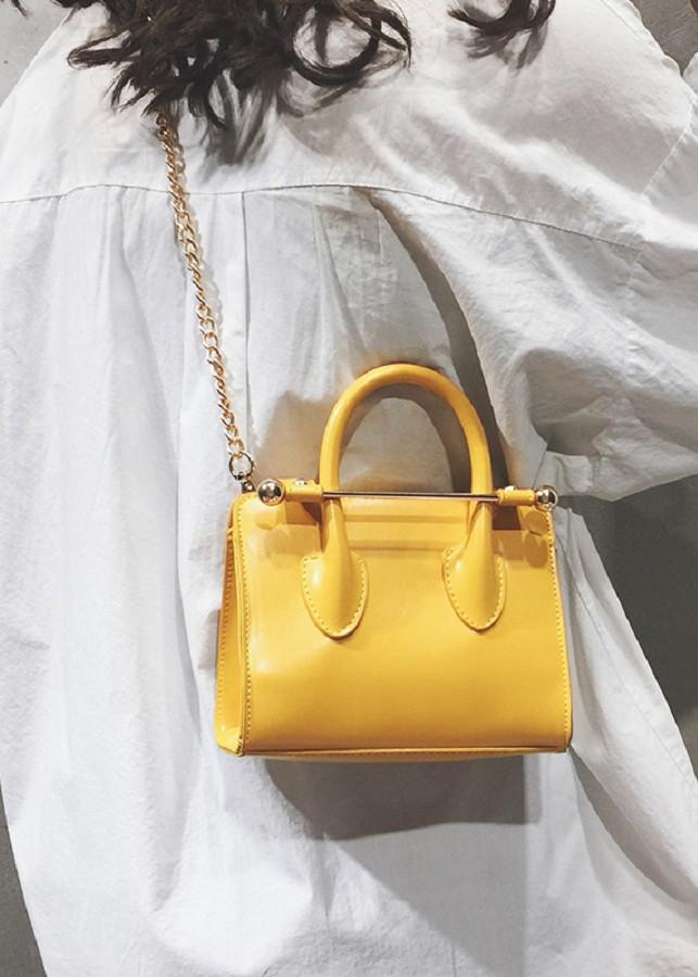 Túi xách nữ sang trọng da mềm bóng nhẹ