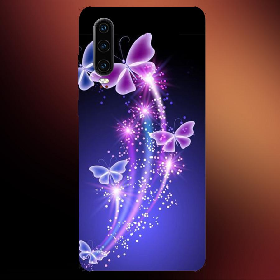 Ốp Lưng Dành Cho Máy Huawei P30 - Ốp Dẻo Cao Cấp In Hình Bướm Nghệ Thuật 3D, Mẫu ốp mới Siêu Đẹp Siêu Hot