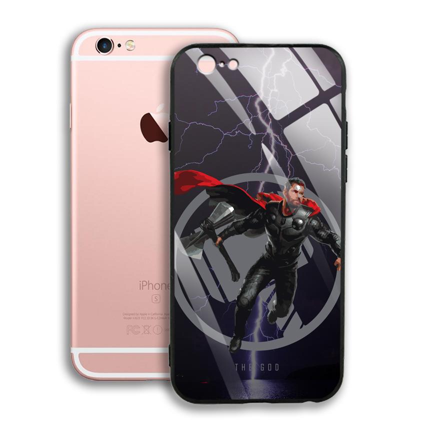 Ốp Lưng Kính Cường Lực cho điện thoại Apple Iphone 6 Plus / 6S Plus - 03002 0540 GOD01 - Hàng Chính Hãng