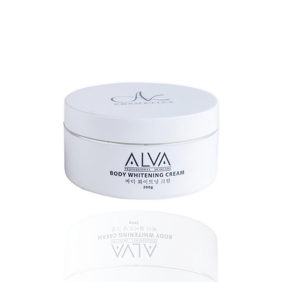 Kem Dưỡng Trắng Da Chuyên Sâu ALVA Body Whitening Cream 200gram