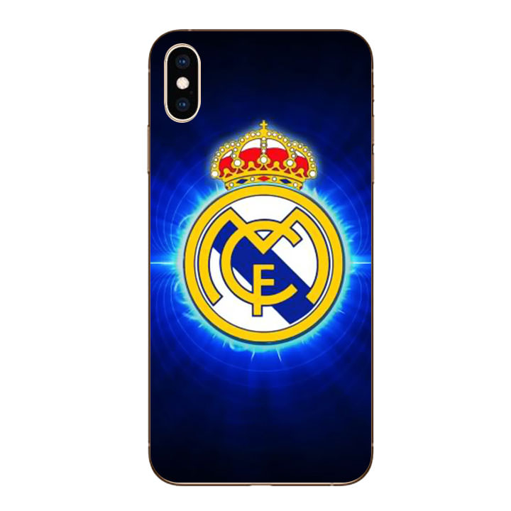 Ốp lưng dẻo cho Iphone XS Max - Clb Real Madrid 01
