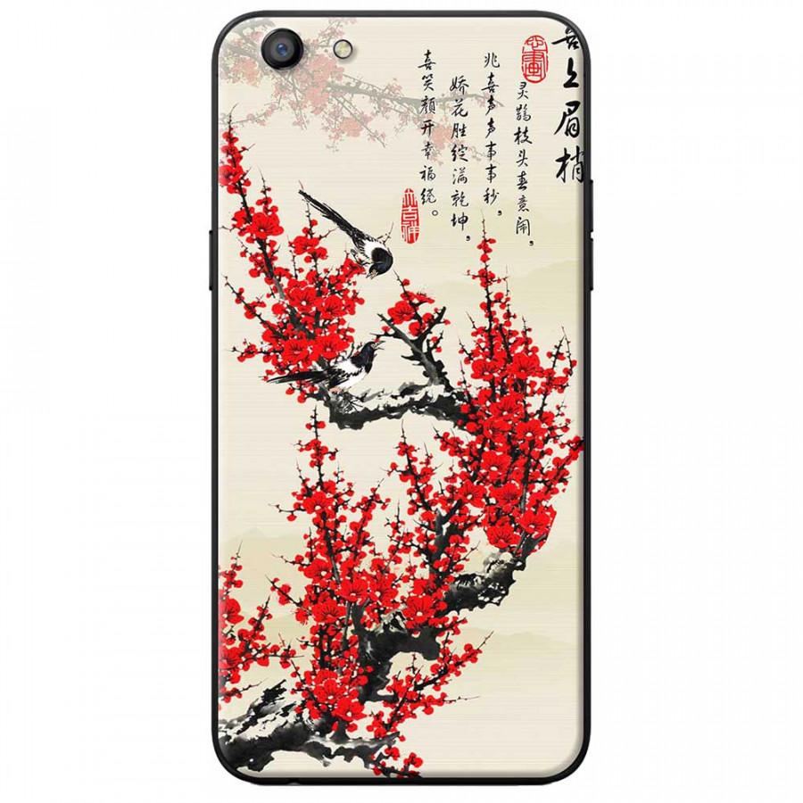 Ốp lưng dành cho Oppo F3 Lite mẫu Hoa đào đỏ thư pháp - 9555403 , 9435000226104 , 62_19650164 , 150000 , Op-lung-danh-cho-Oppo-F3-Lite-mau-Hoa-dao-do-thu-phap-62_19650164 , tiki.vn , Ốp lưng dành cho Oppo F3 Lite mẫu Hoa đào đỏ thư pháp