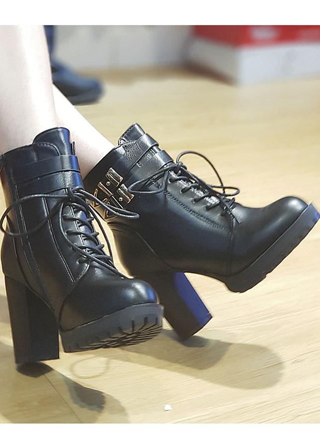 Giầy Boot 2 khóa 8cm BO-35 - 1495078 , 2328241556345 , 62_12350837 , 1200000 , Giay-Boot-2-khoa-8cm-BO-35-62_12350837 , tiki.vn , Giầy Boot 2 khóa 8cm BO-35