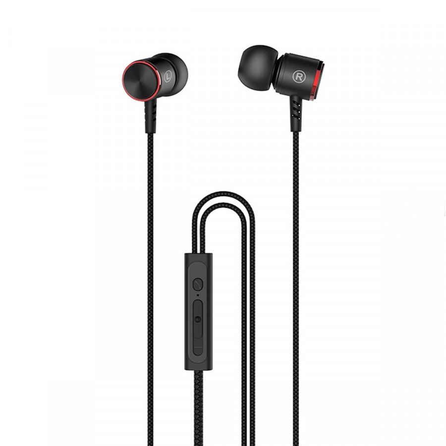 Tai nghe nhét tai HOCO M42 có dây cho điện thoại iPhone Android- Hàng Chính Hãng