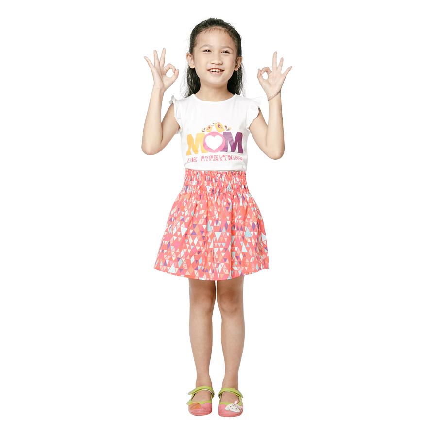 1795186972539 - Chân Váy Bé Gái Lưng Thun, Chạy Chỉ Lưng Thun Geni Kids VAG0020664501 - Hồng