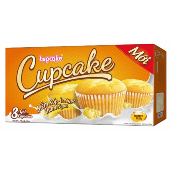 Bánh Cupcake - Bơ Sữa (75g) - 1029561 , 8935225802851 , 62_3009975 , 11000 , Banh-Cupcake-Bo-Sua-75g-62_3009975 , tiki.vn , Bánh Cupcake - Bơ Sữa (75g)