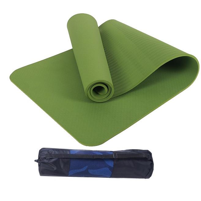 Thảm yoga 8mm 1 lớp TPE( tặng túi lưới +Dây buộc) - 2315097 , 3810612849747 , 62_14924008 , 400000 , Tham-yoga-8mm-1-lop-TPE-tang-tui-luoi-Day-buoc-62_14924008 , tiki.vn , Thảm yoga 8mm 1 lớp TPE( tặng túi lưới +Dây buộc)