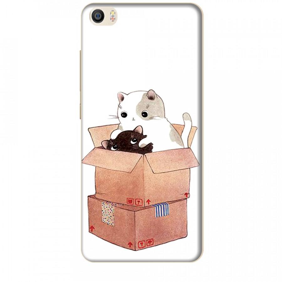 Ốp lưng dành cho điện thoại XIAOMI MI 5 Mèo Con Dễ Thương